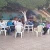 حزب الحياة بالمنيا يجمع اعضاءة علي مائدة إفطار جماعي