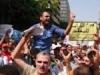 المعلمون يواصلون اعتصامهم لليوم الثالث
