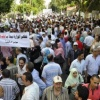 لليوم الثانى.. المعلمون يواصلون اعتصامهم أمام مجلس الوزراء