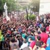 العشرات من ألتراس أهلاوى يغادرون محطة مصر عقب إلغاء السفر للإسكندرية